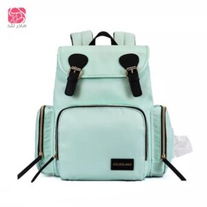 Colorland-Diaper-Backpack-mint-green-مادرلند