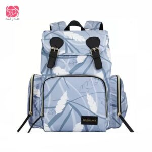 colorland-Mommy-diaper-Bag-Blue-Jungle—مادرلند